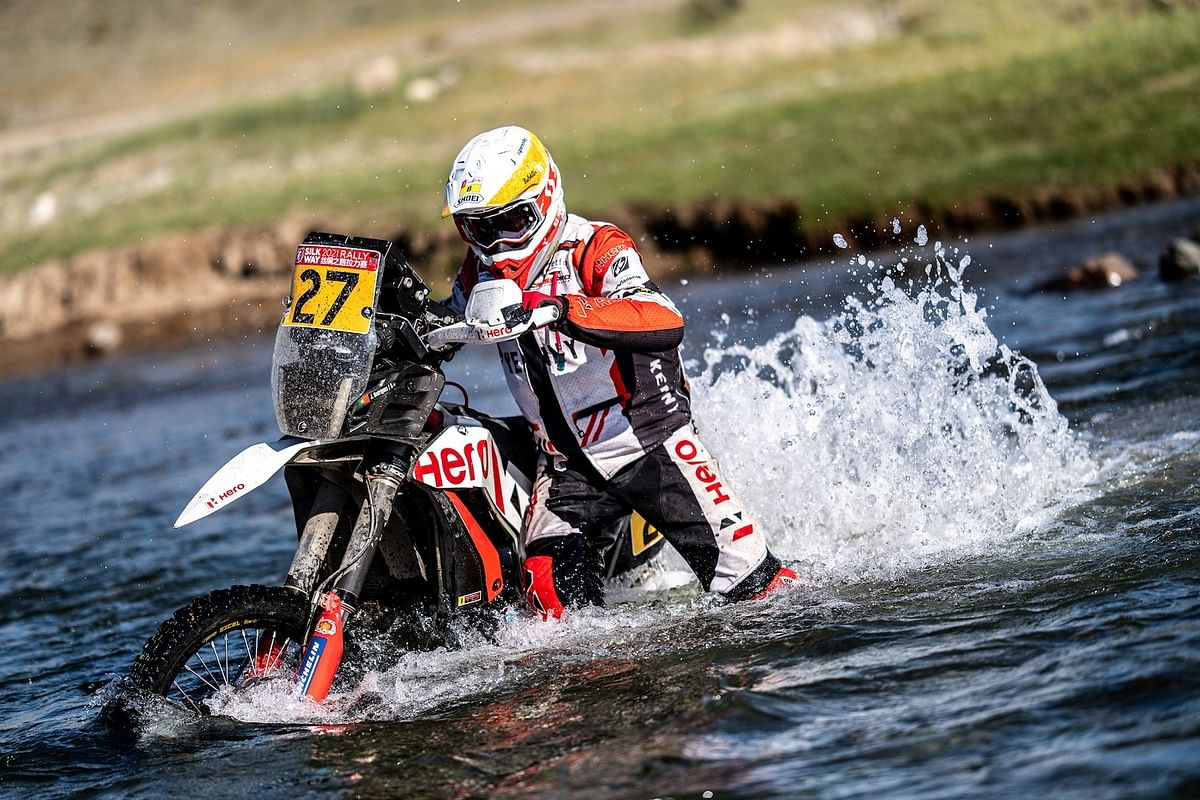 J-Rod tried tpo save his engine after it flooded with water at round three