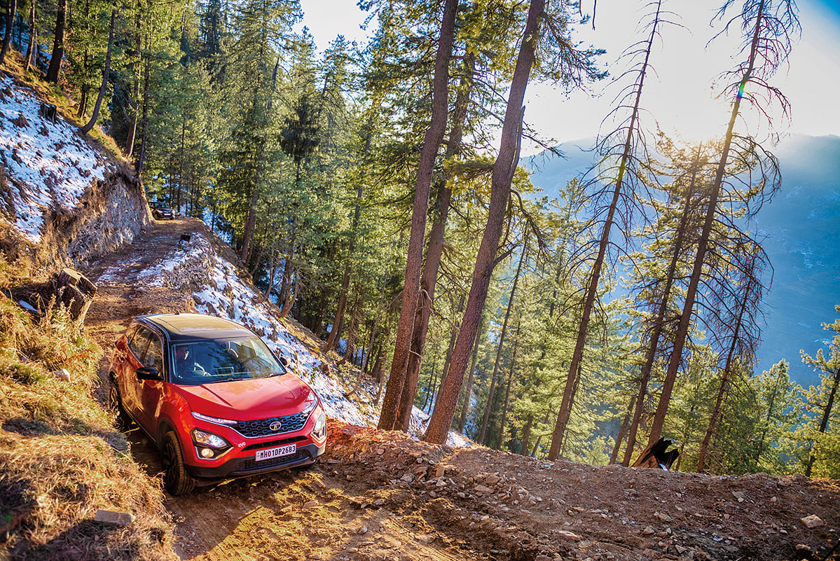 At no place did the Tata Harrier feel like it was lacking, no matter what the Himalayas threw at it