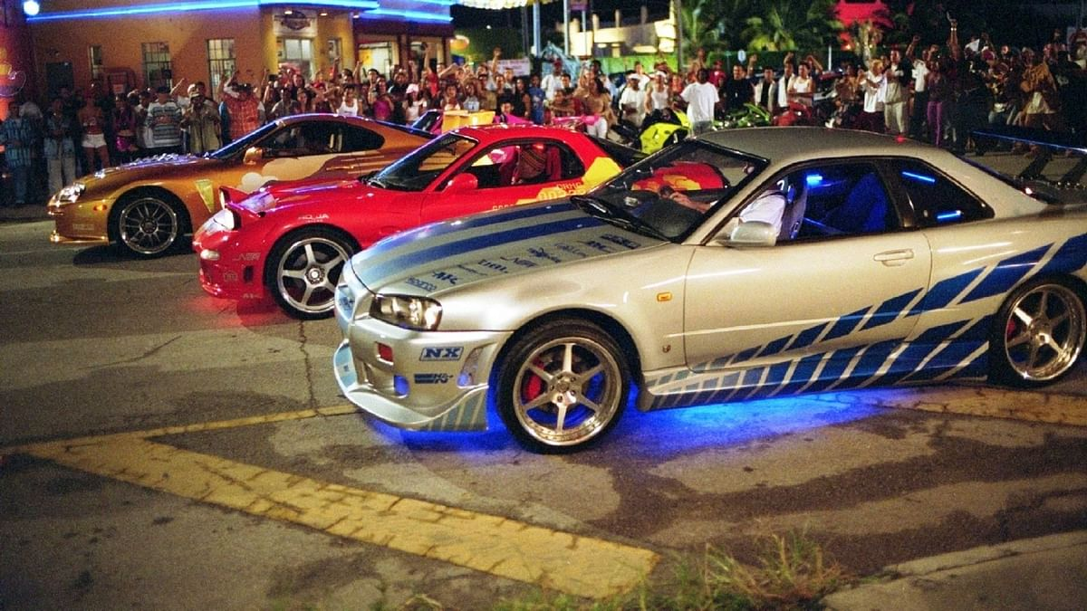 the legendary Skyline  GT-R in 2 Fast 2 Furious
