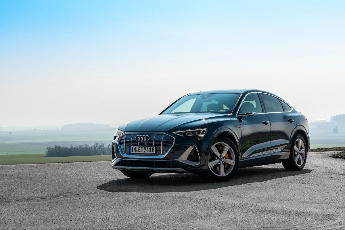 The Sportback is the range-topping variant in the Audi e-tron lineup