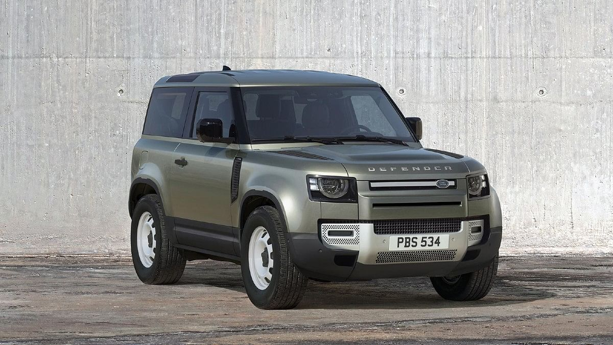 The Land Rover Defender 90 can be had as the basic Defender...