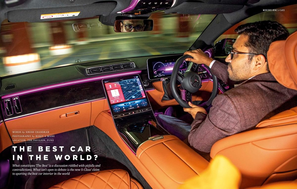 The S-Class remains an industry tech leader