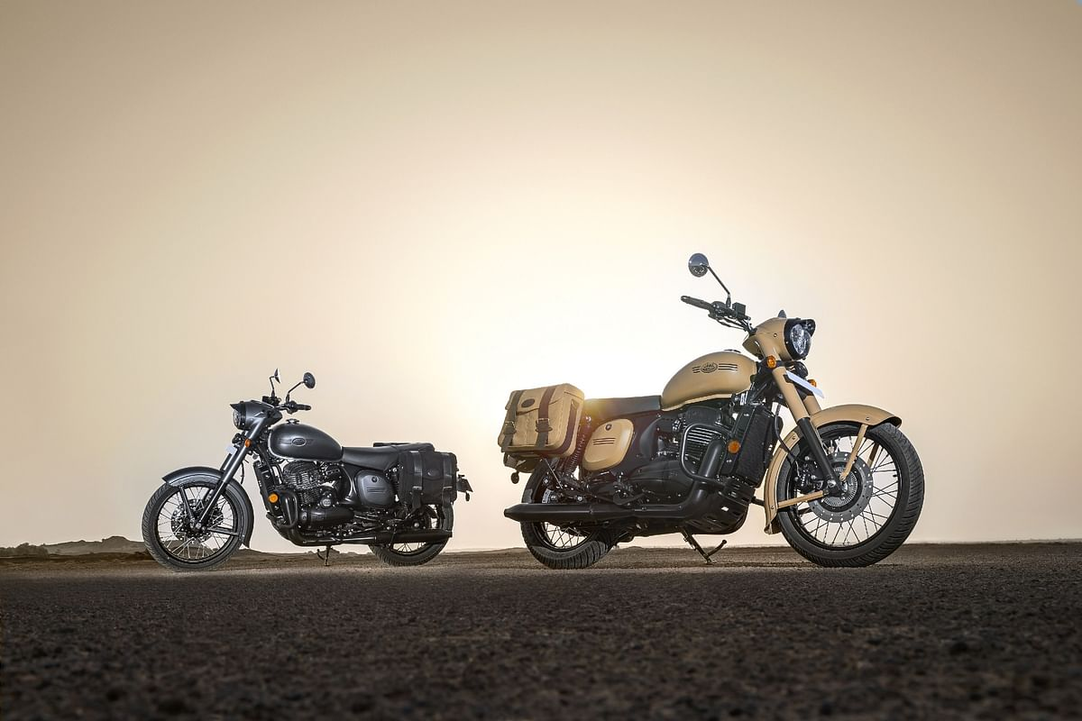 Jawa Motorcycles introduce two new colours for the Jawa