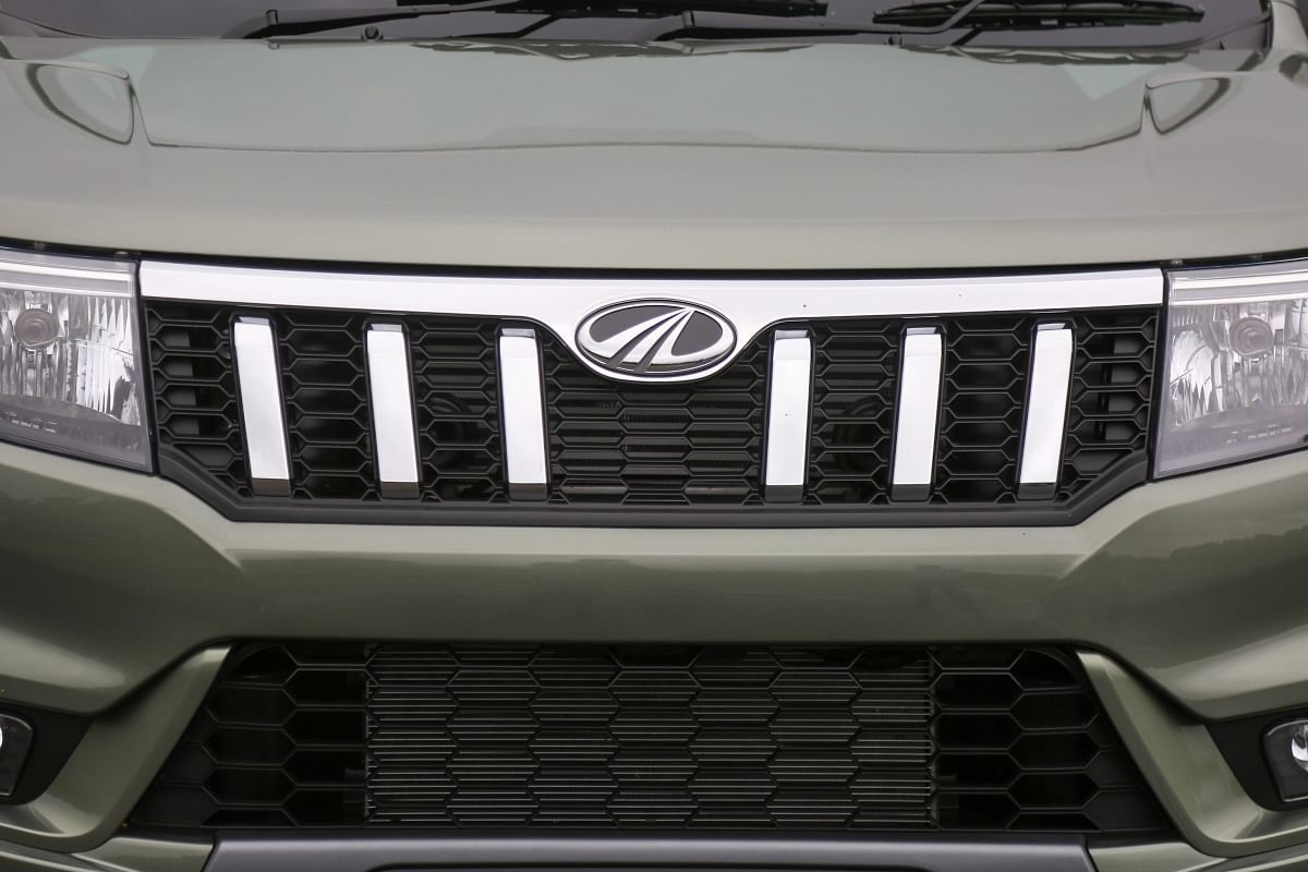 The new grille on the Bolero Neo is bolder than before