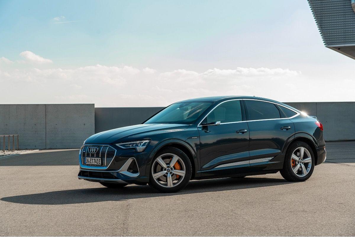 The Audi e-tron Sportback will be priced at a slight premium over the standard e-tron