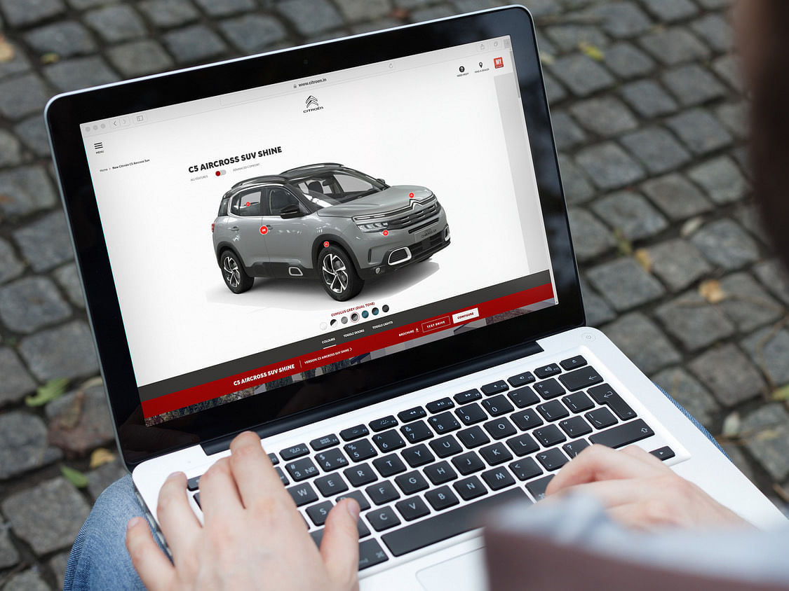 Citroen India joins hands with Eccentric Engine for 3D digital visualisations of their cars online