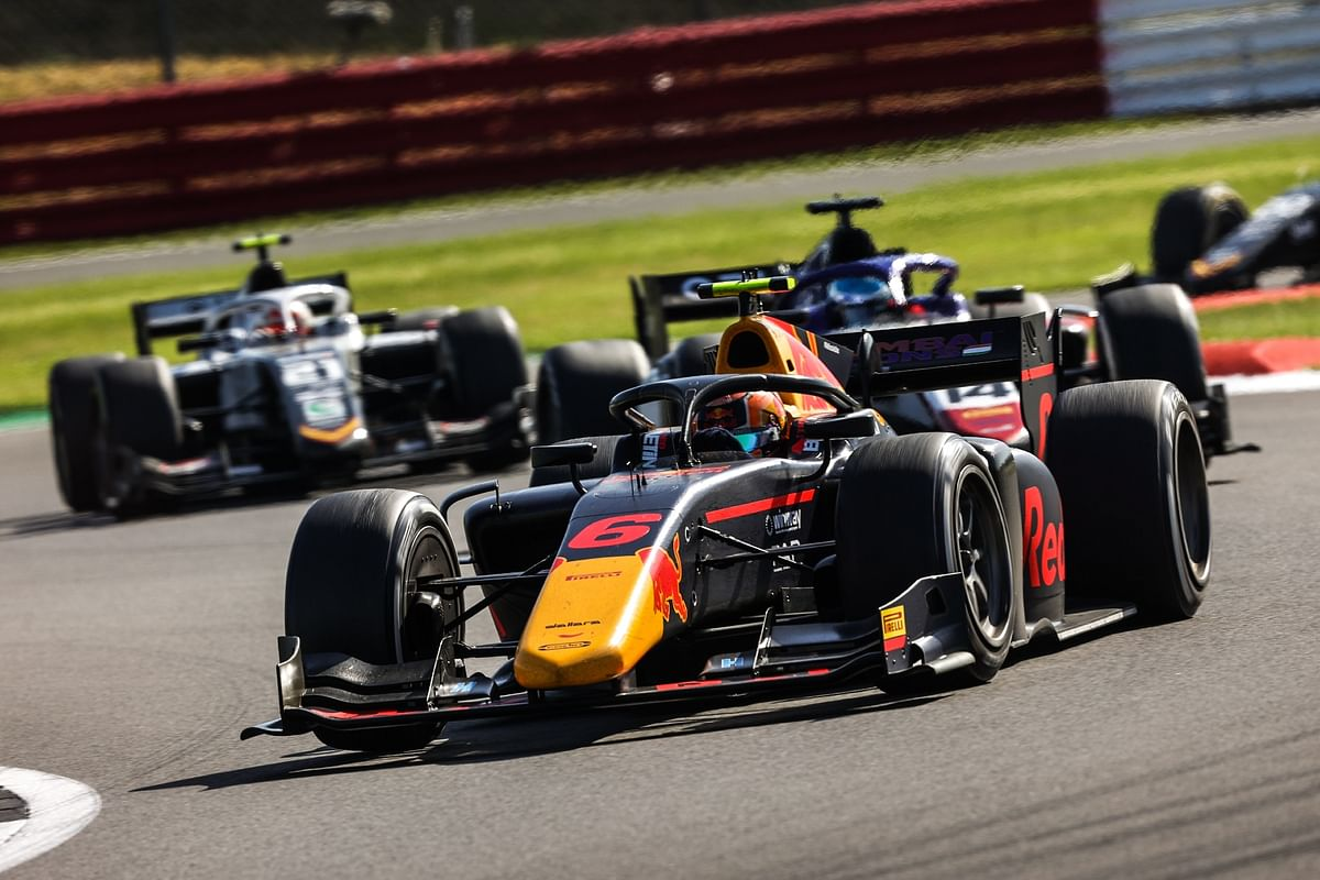 Jehan Daruvala finishes the British GP with two points