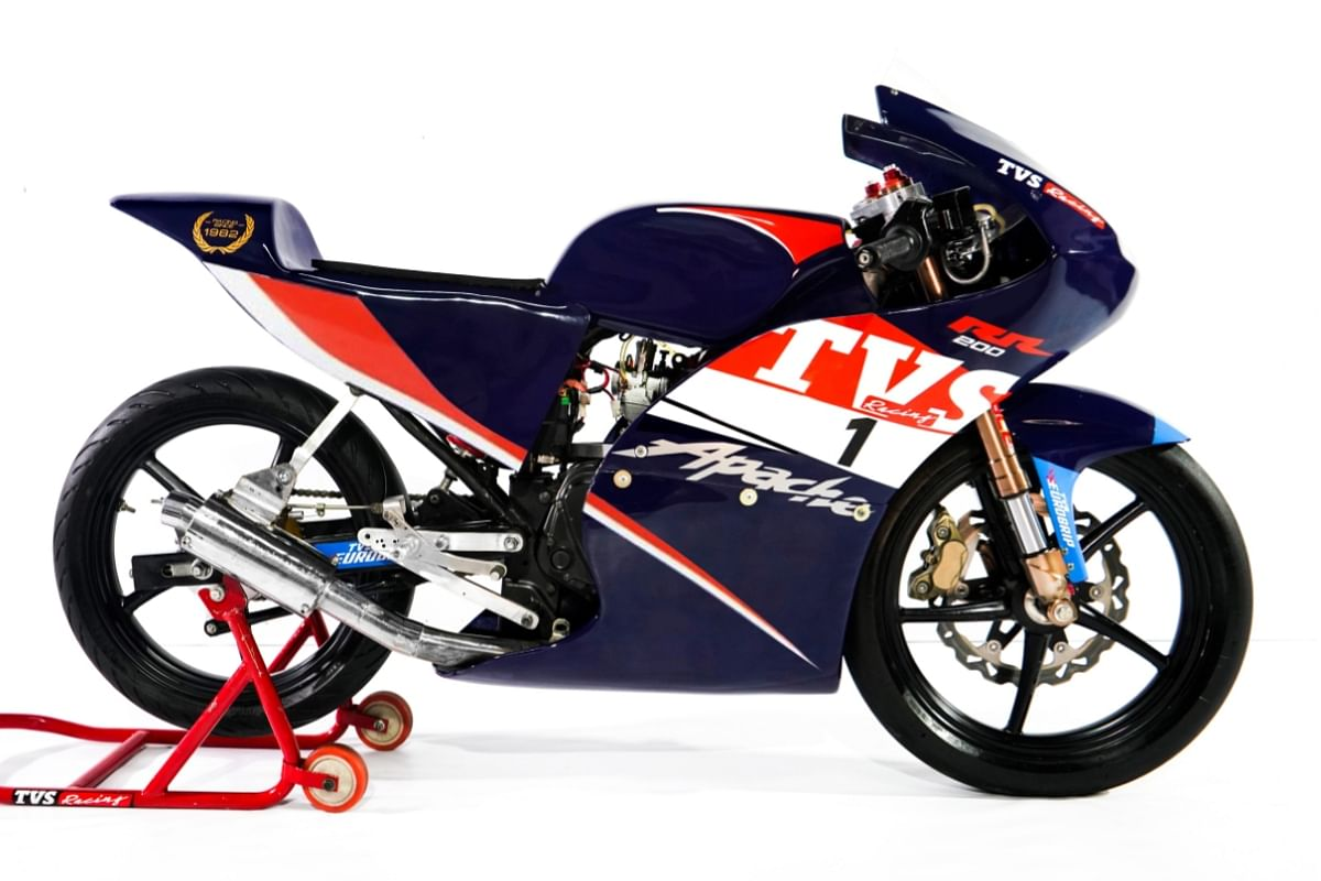 The race-spec motorcycle will allow the young riders to get a grip of the various aspects of racing