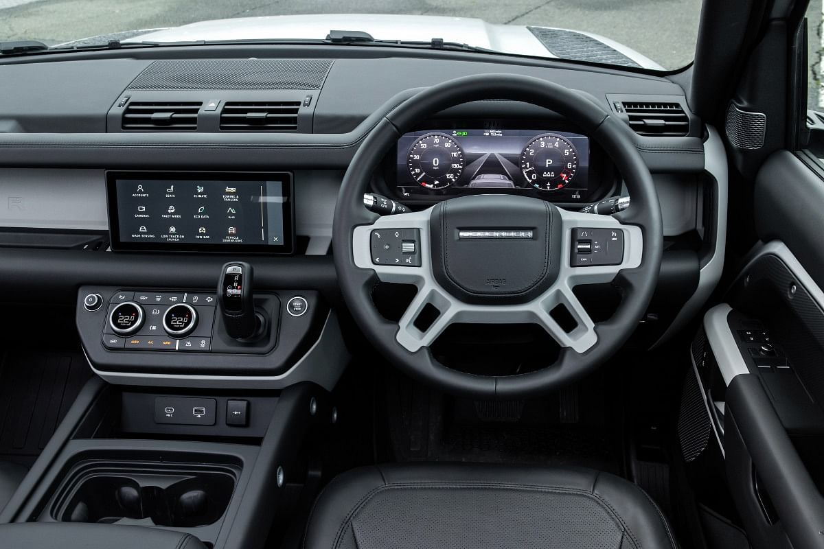 The 10-inch touchscreen infotainment system receives Pivi Pro software