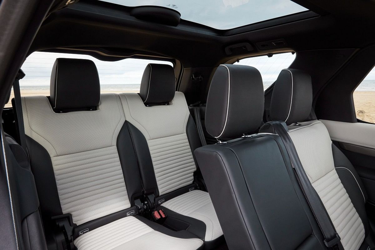 The Discovery comes with seats larger than the previous models