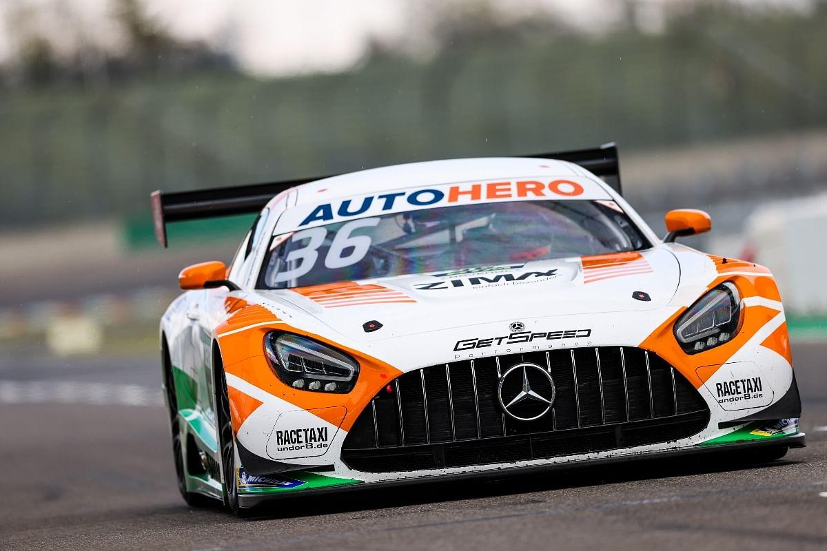 Mercedes-AMG Team Getspeed had to retire Maini due to blockage in radiator