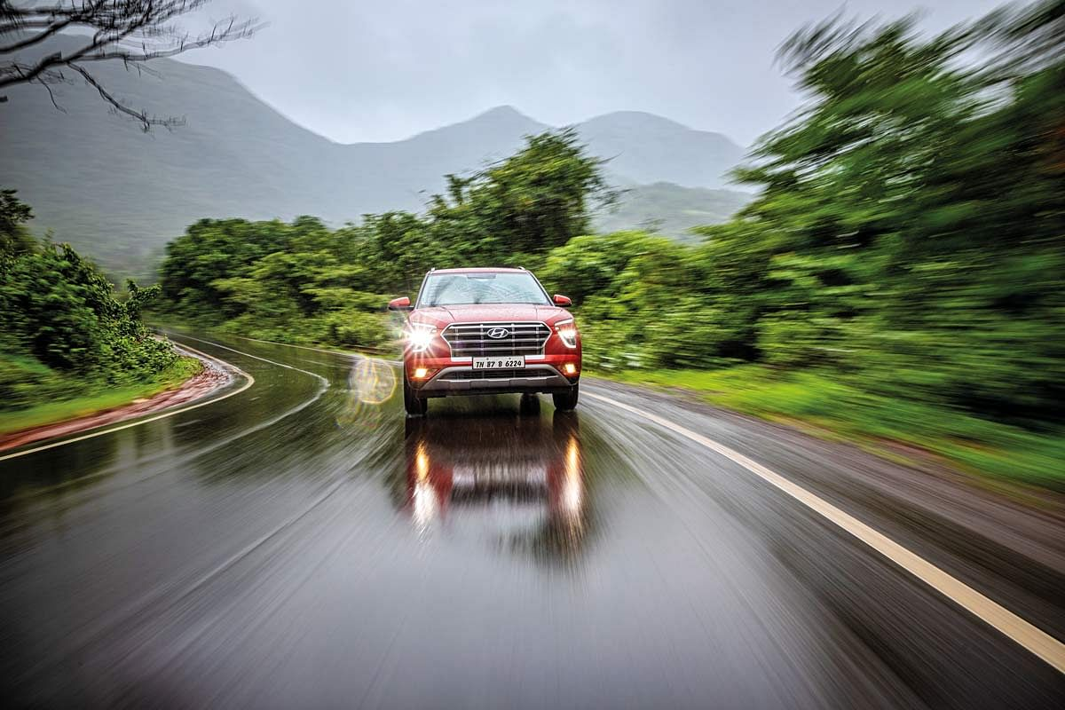 CEAT Securadrive tyres' have the ability to provide good grip even during the monsoon