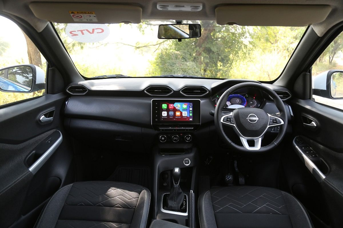 The interior packs a lot of tech