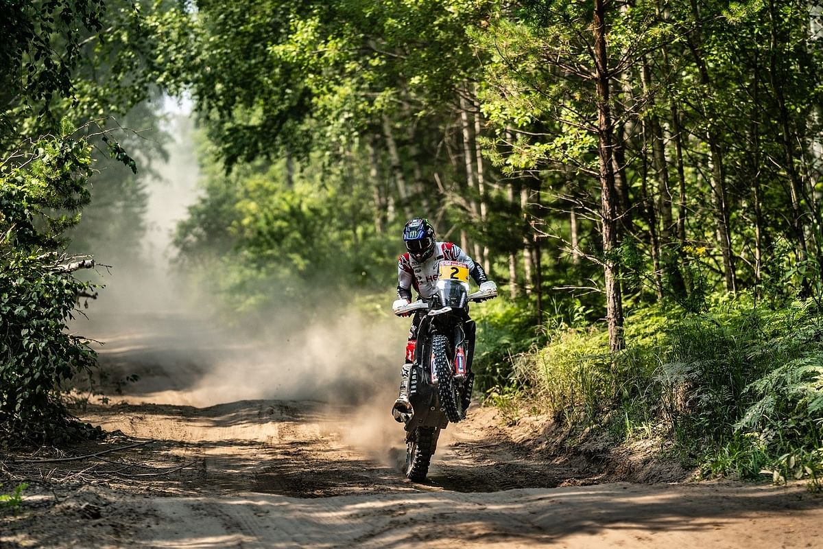 Hero MotoSports Team Rally wins their first-ever podium in the FIM cross-country world championship