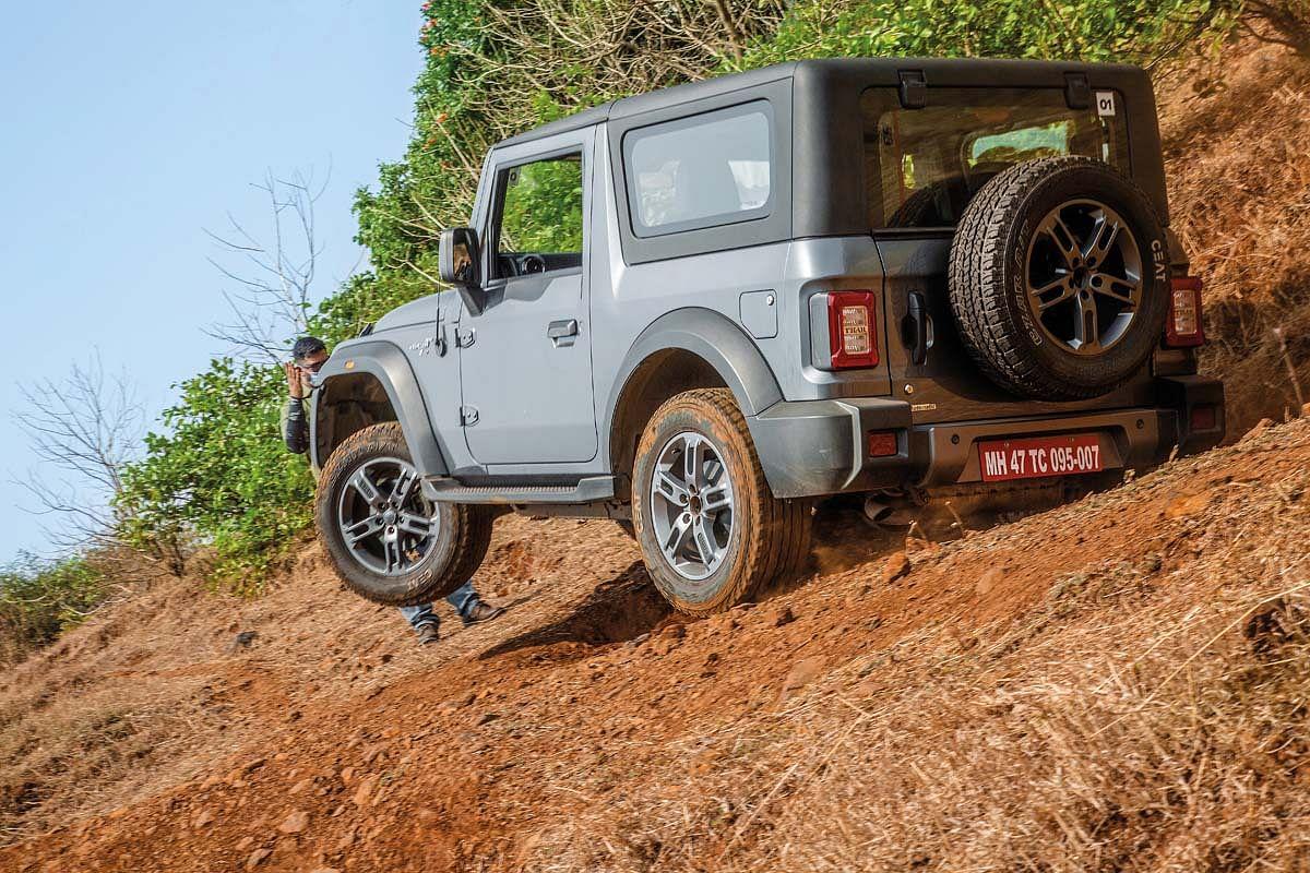 The Mahindra Thar makes off-roading feel effortless