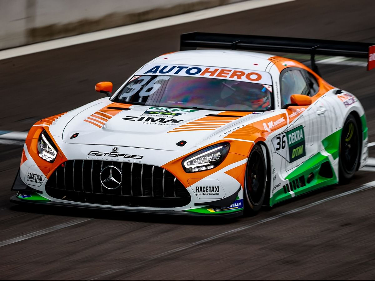 Arjun Maini scores his first points in DTM at Nurburgring