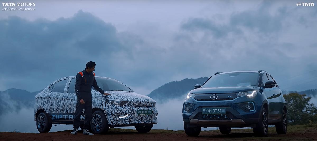 Tata Motors teases the new Tata Tigor EV