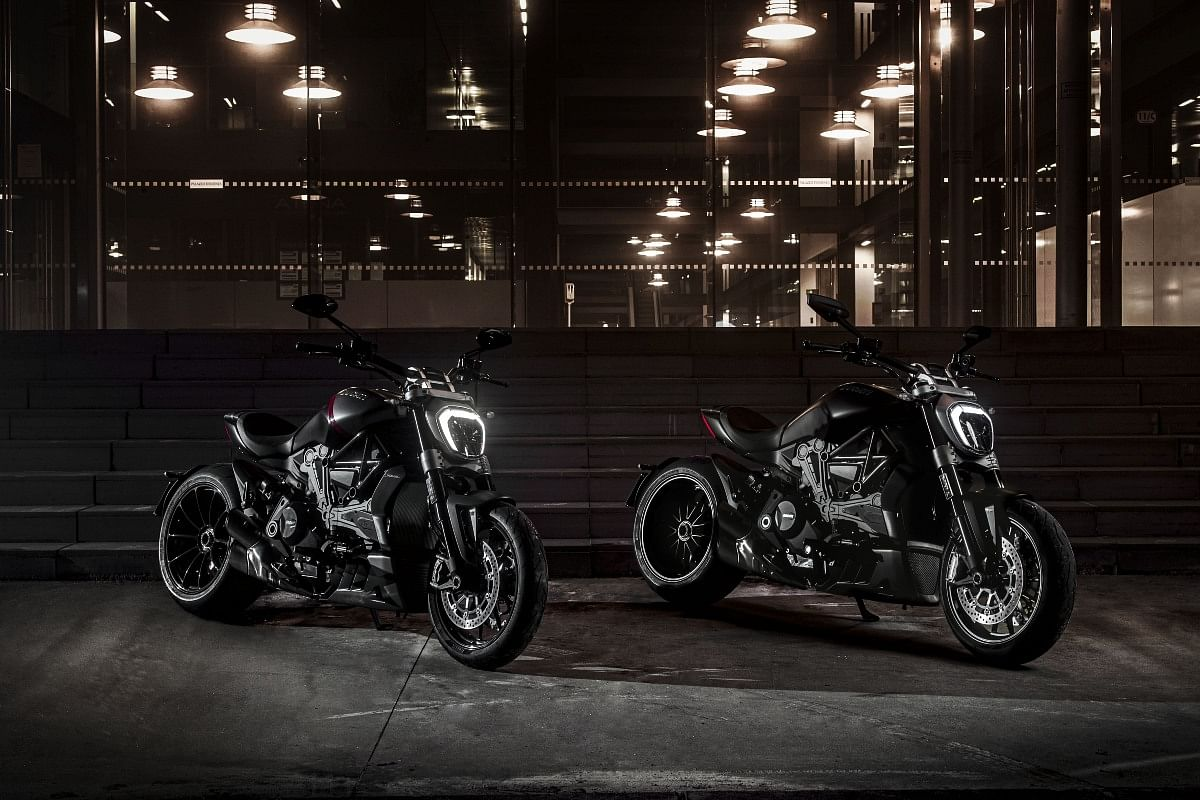 No S variant for the XDiavel in India, only the Dark and the Black Star being offered here