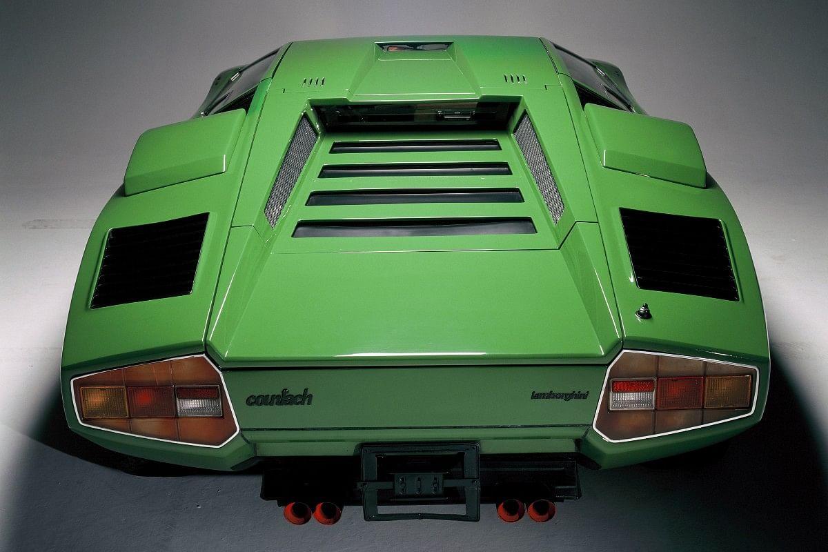 The original Countach LP-400 came with a 4-litre V12 making 370bhp