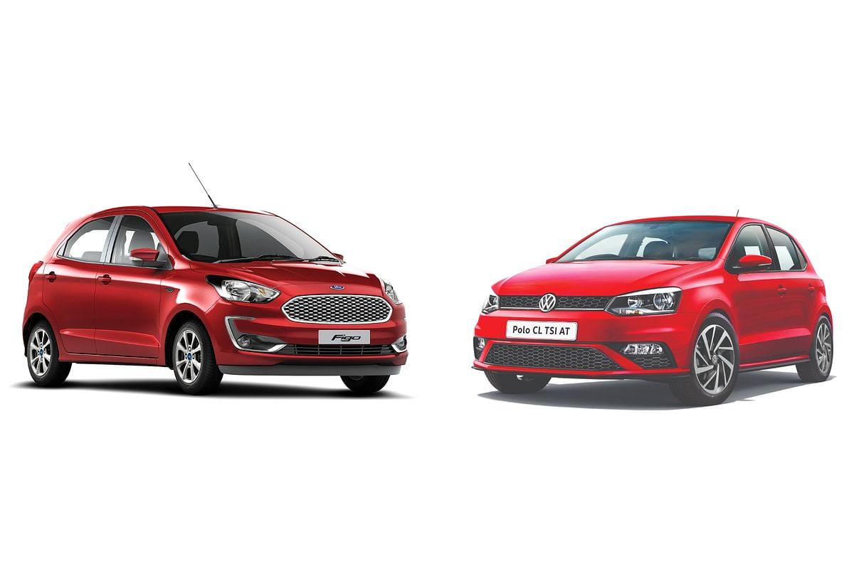 2021 Ford Figo AT vs Volkswagen Polo TSI AT: Specification and price comparison