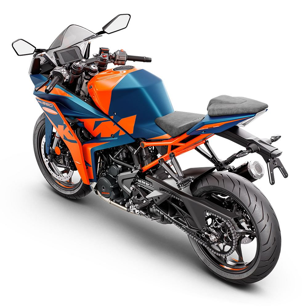 The RC 390 will get adjustable front suspension