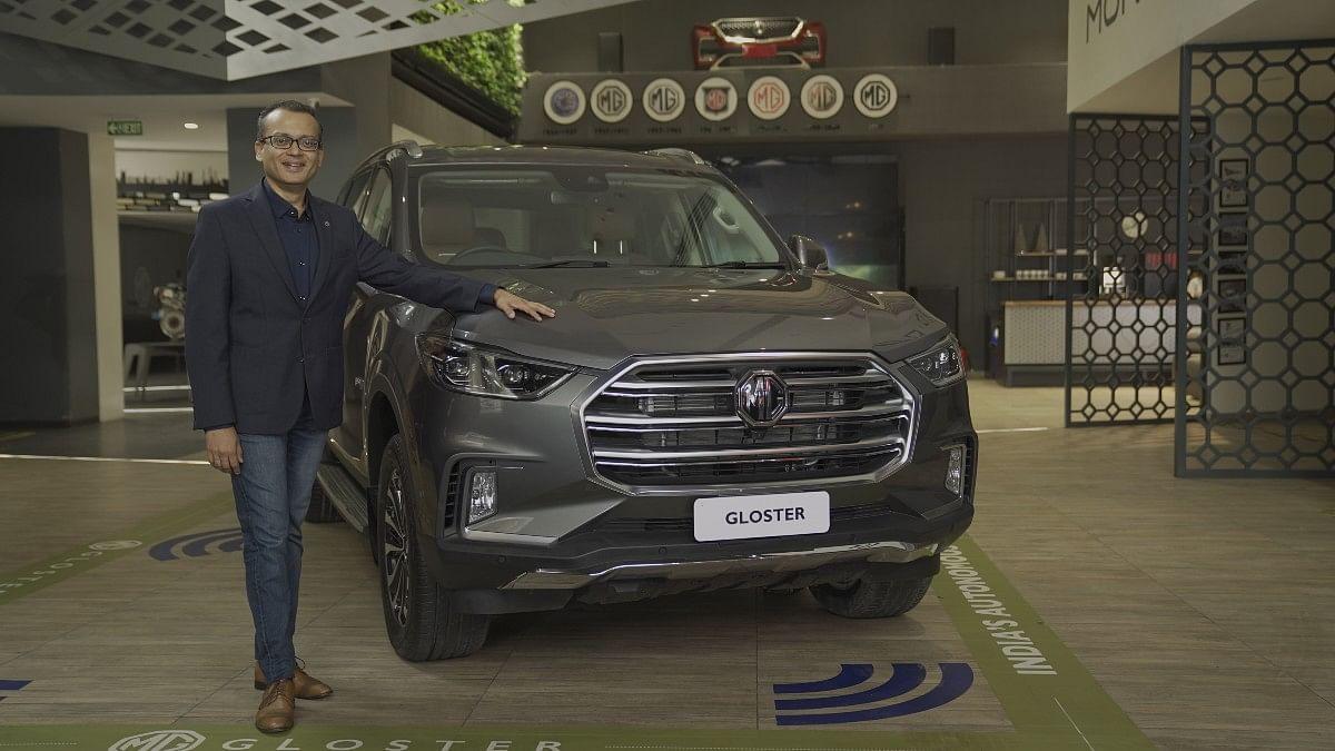 Gaurav Gupta, chief commercial officer, MG Motor India