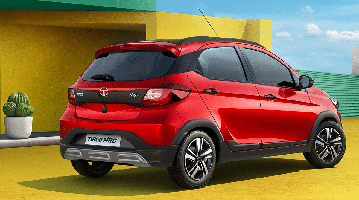 The new Tiago NRG gets a more rugged look