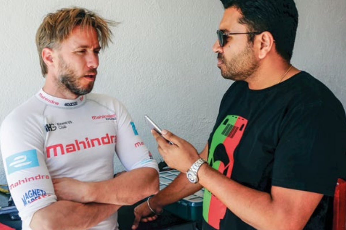 Nick Heidfeld gives the editor tips on how to drive the Formula E car