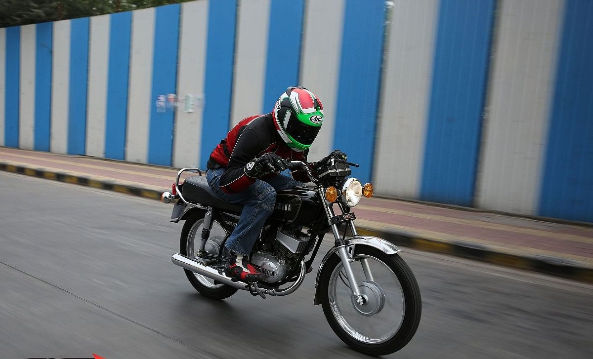 The Yamaha RX100, the two-stroke screamer