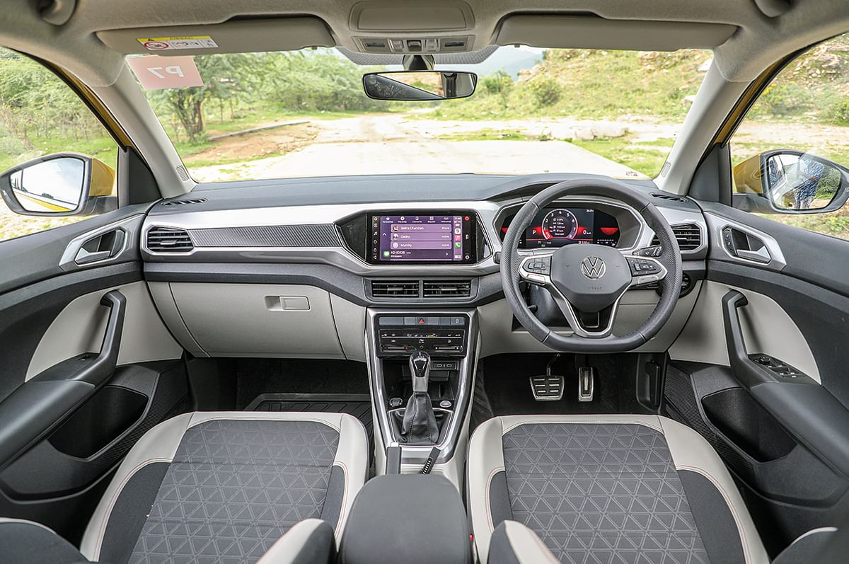 The interiors in the Taigun GT are overall comfortable and impart a great experience