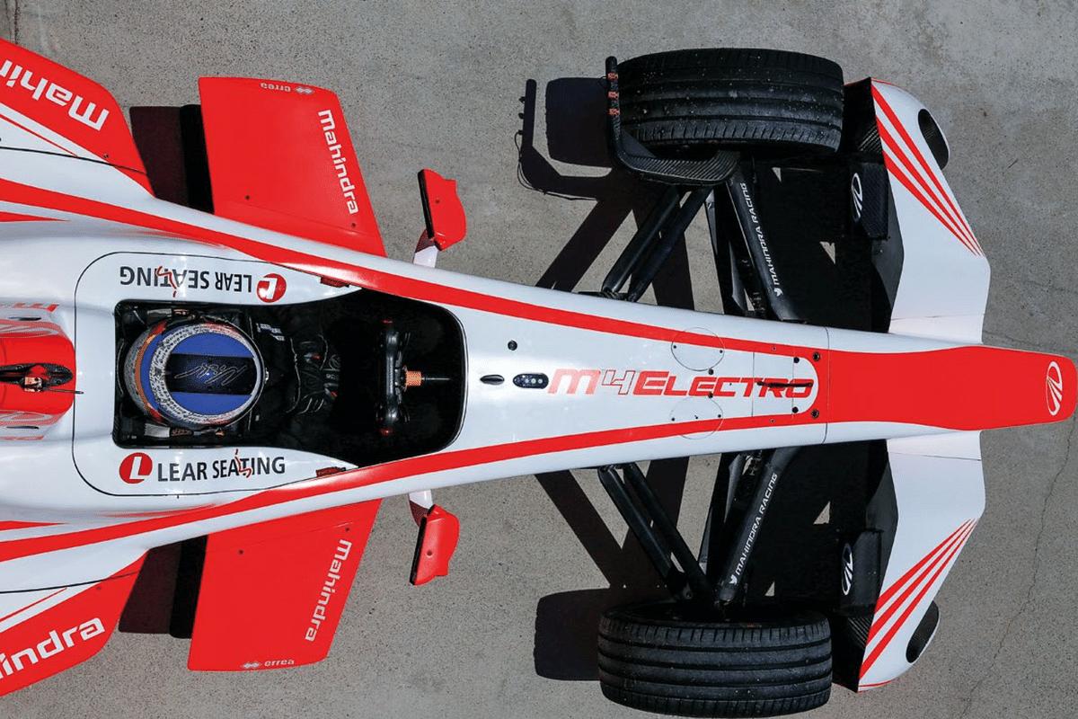Driving a Mahindra Racing Formula E car