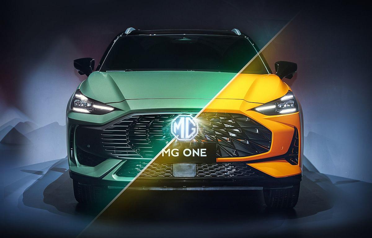 MG One SUV design revealed