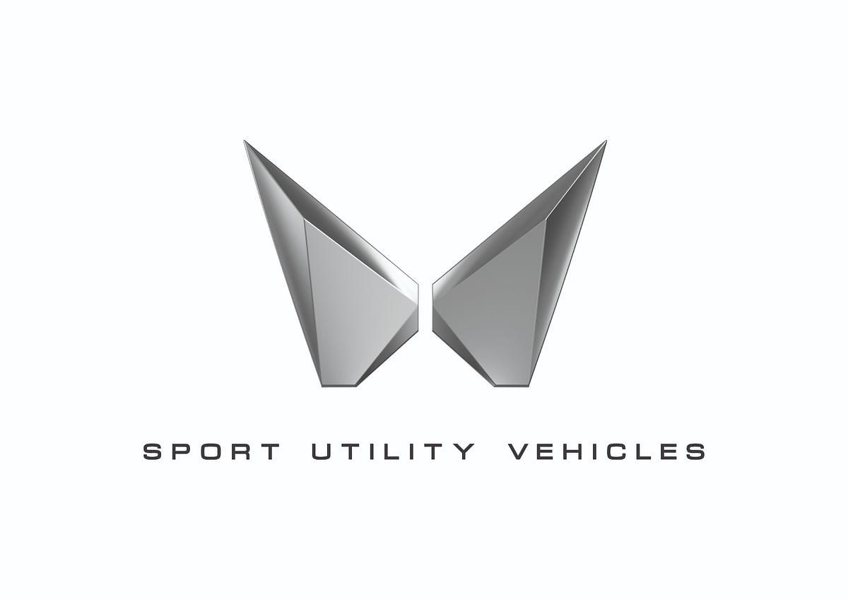 New Mahindra SUV logo revealed ahead of the launch of XUV700