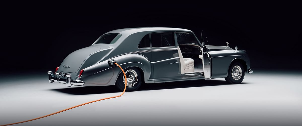 Iconic cars swapped with electric drivetrains
