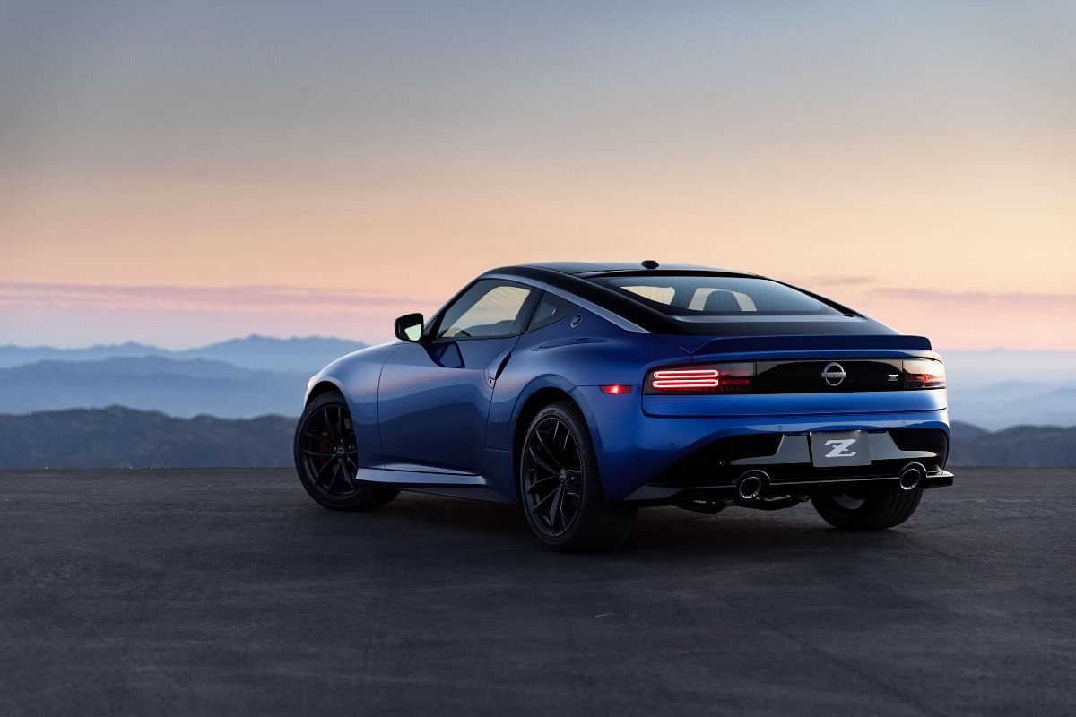Roofline harks back to the earlier Z sports-coupes