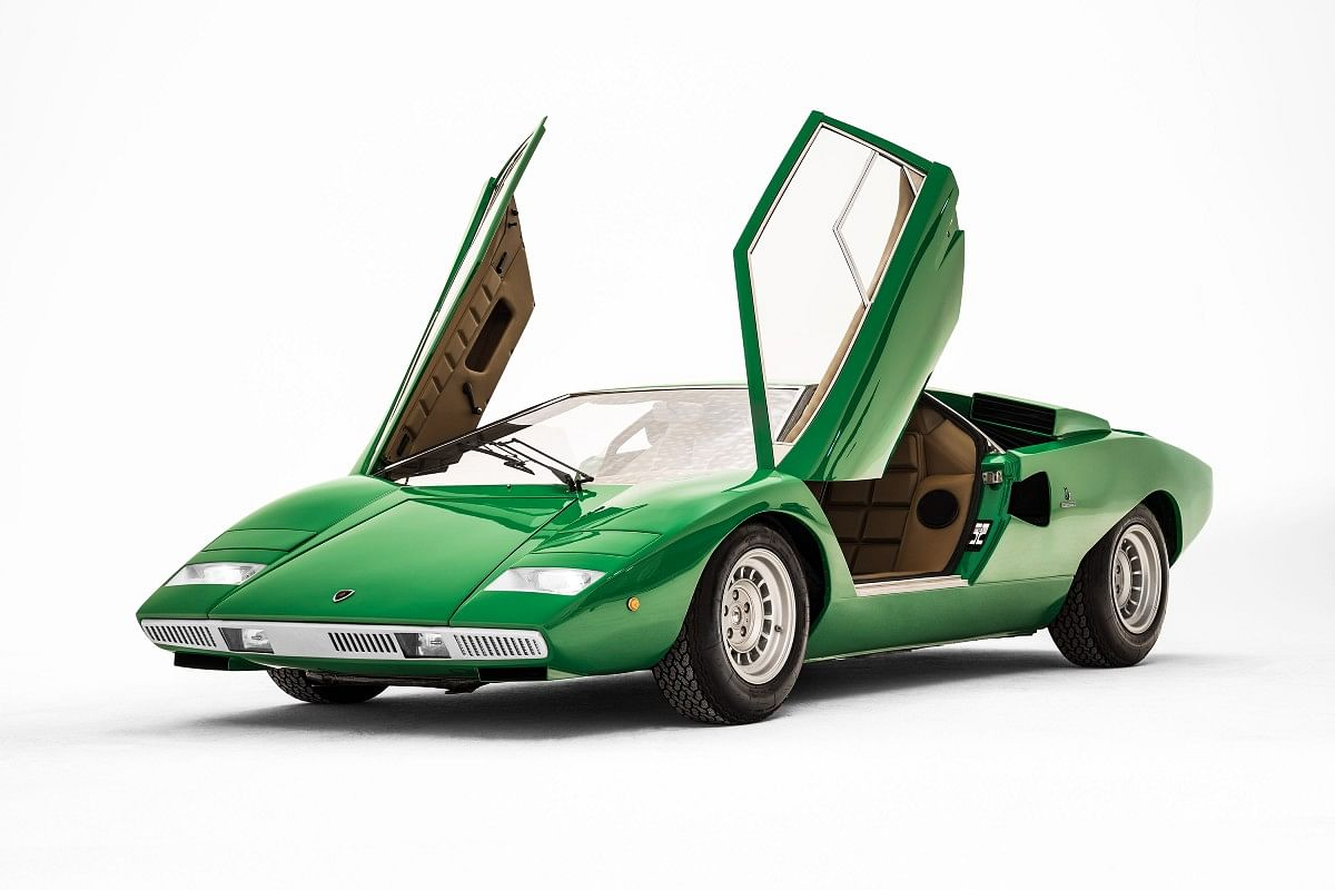 The Countach was the first Lamborghini to feature scissor doors, that are now a Lamborghini characteristic