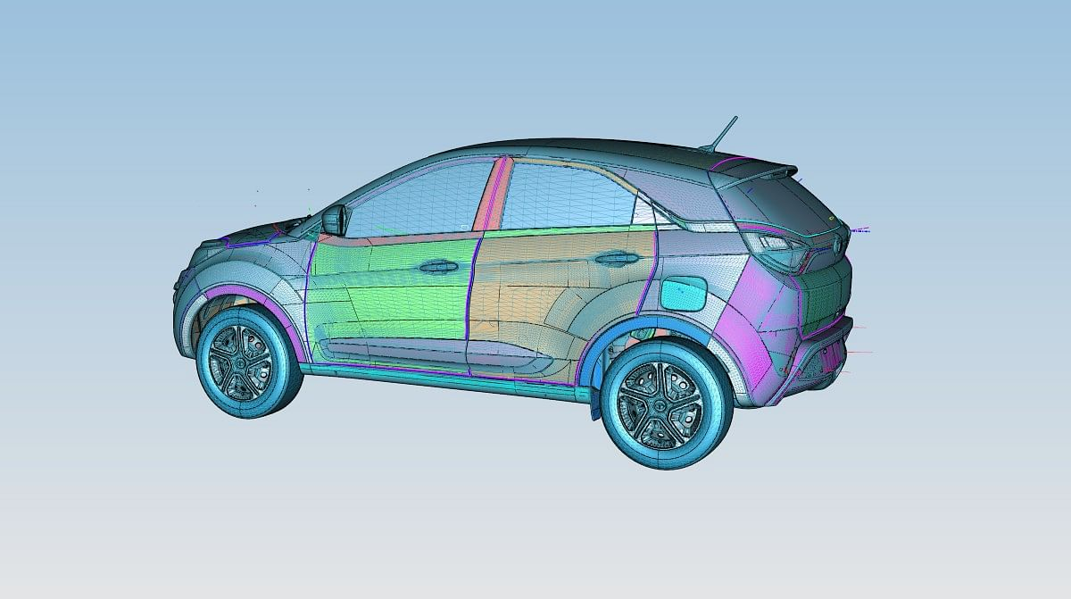 The designing process involves a lot of CAD work