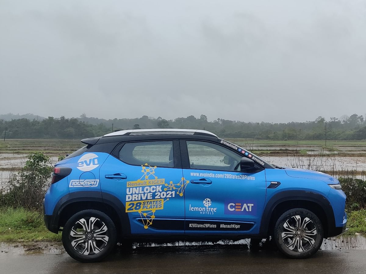 Drive detox #28States28Plates drive goes to Coorg