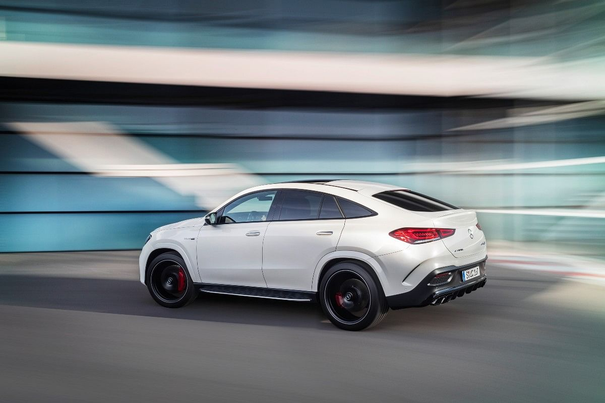 The GLE 63 S Coupe is quick and does a 0-100kmph in just 3.8 seconds