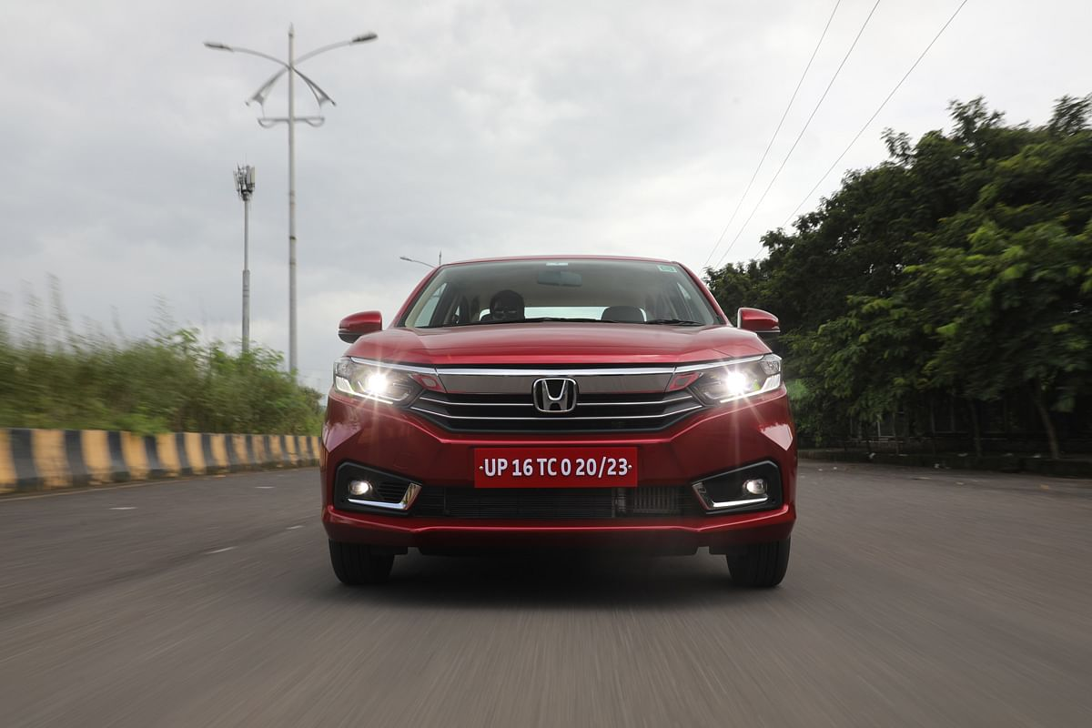 New chrome grille is standard but the LED projector headlamps are kept exclusive to the VX variant