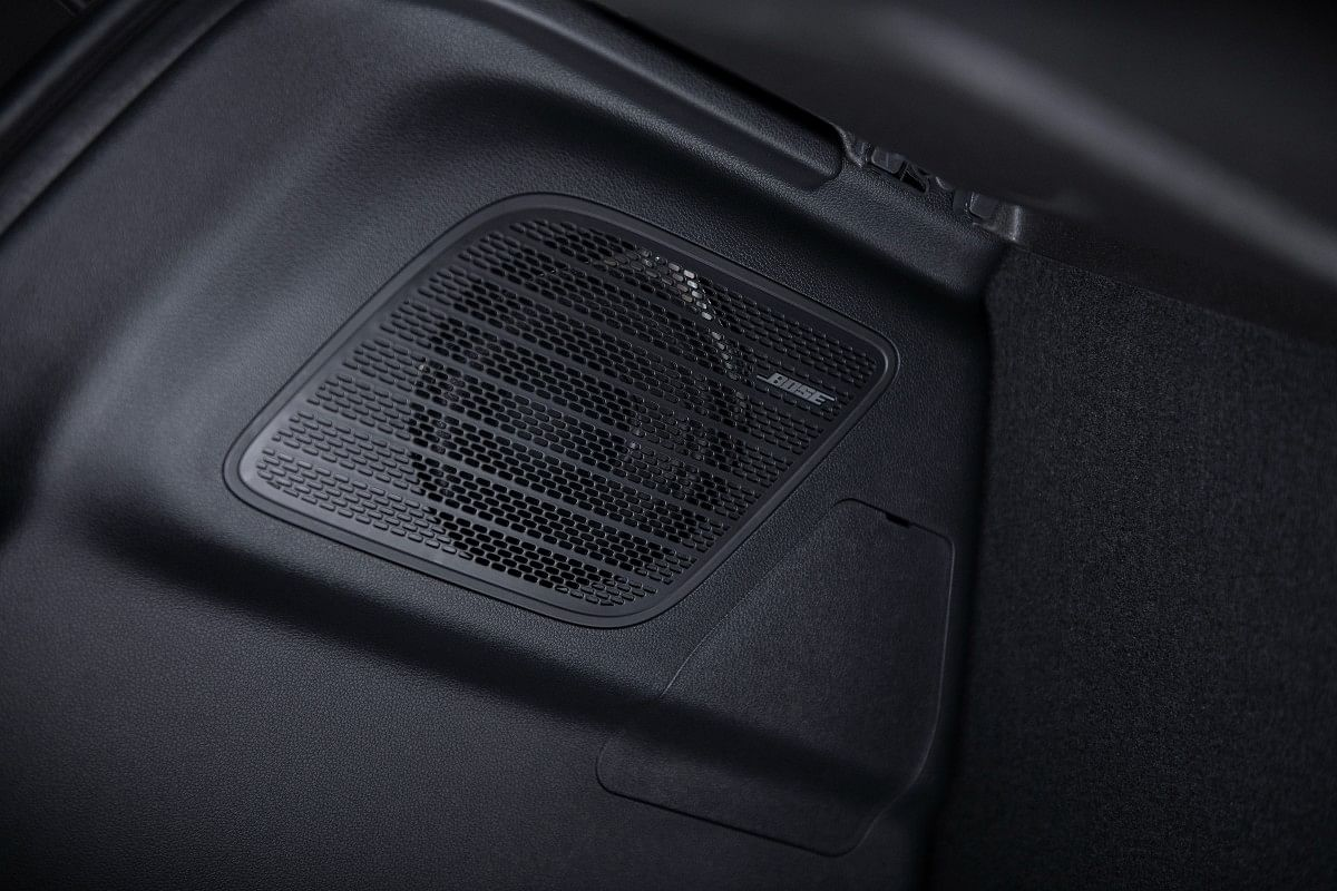 A 7-speaker Bose audio system comes as standard fitment