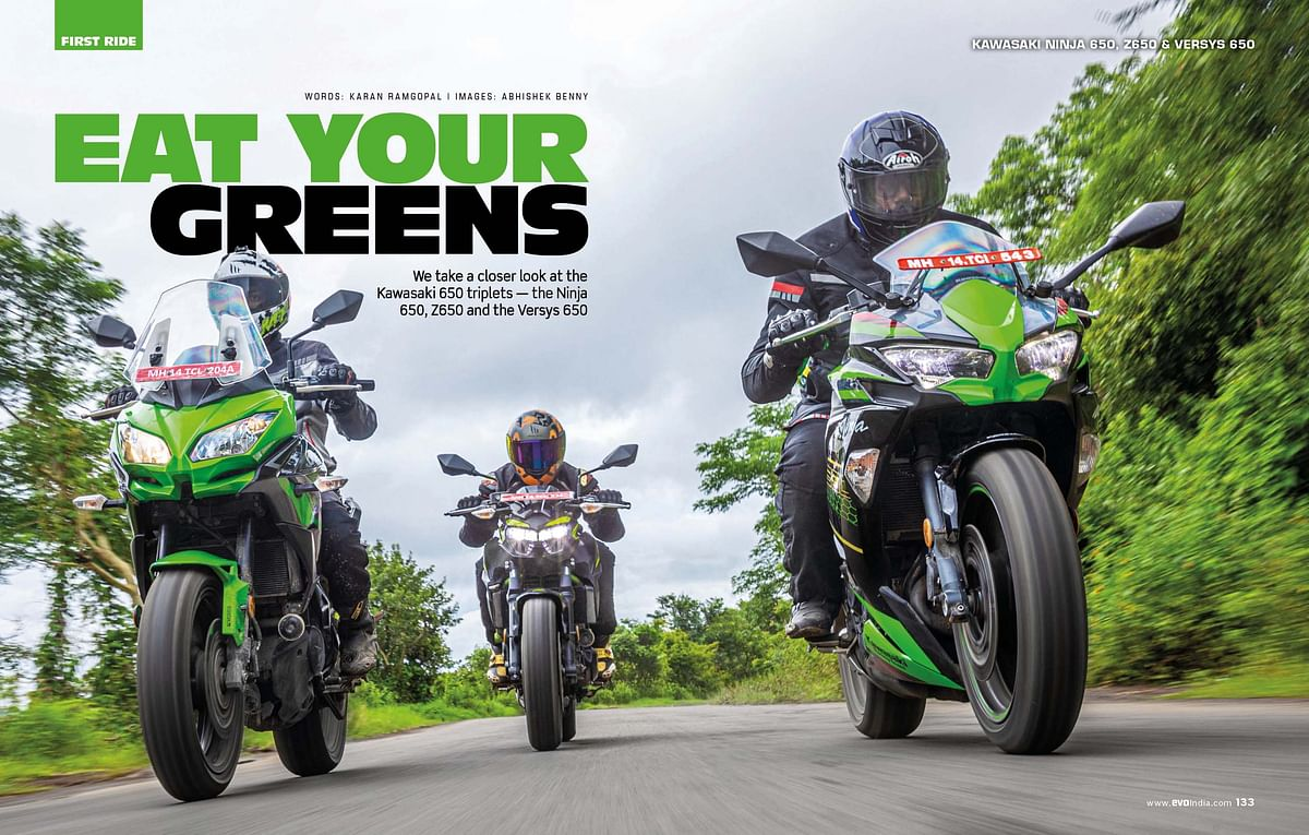 Different strokes for different folks: what Kawasaki 650 would you rather have?