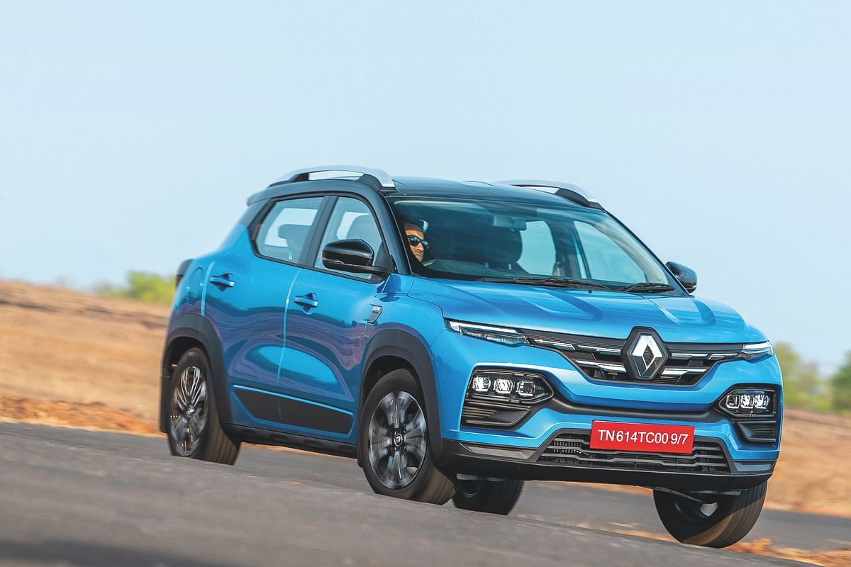 Renault begins export of Kiger from India
