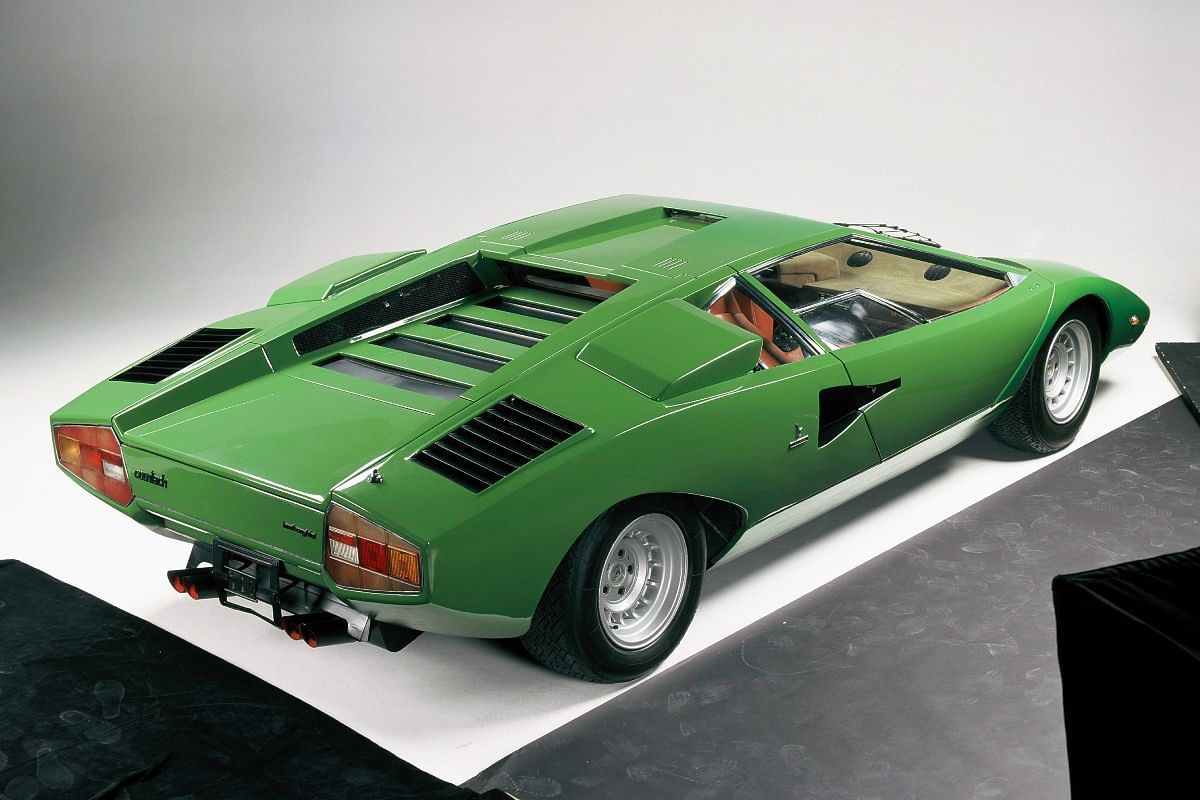 Fifty years on and the Countach still manages to look futuristic