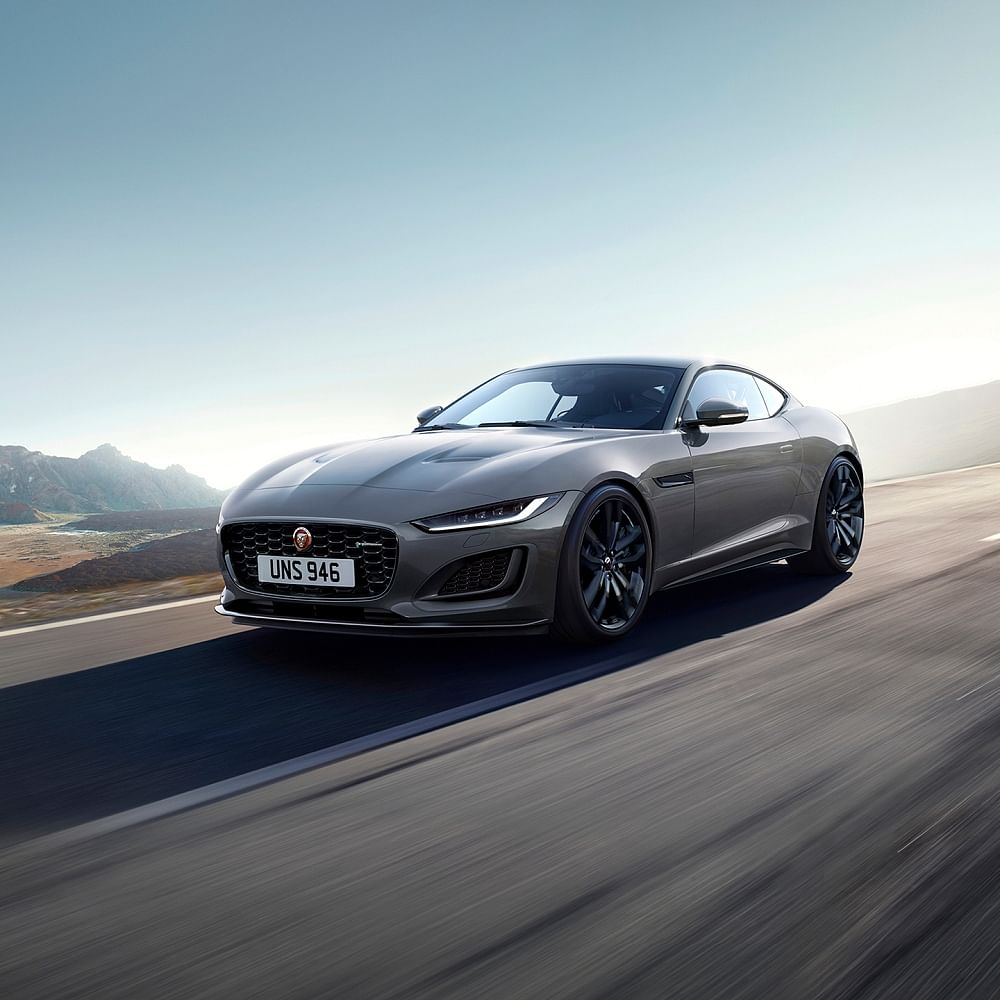 JLR website and stores are now accepting bookings for the F Type R-Dynamic Black