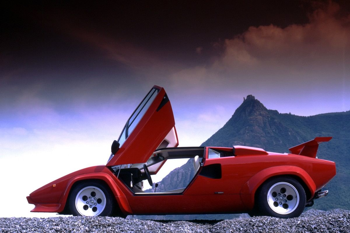 Lamborghinis were always about drama and visual excess. The Countach LP-5000 for instance, came with a massive rear spoiler
