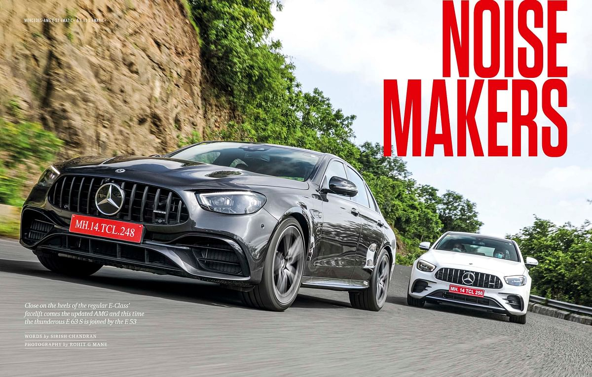 The Mercedes-Benz E63 S is wilder, while the E53 is more an everyday performance car