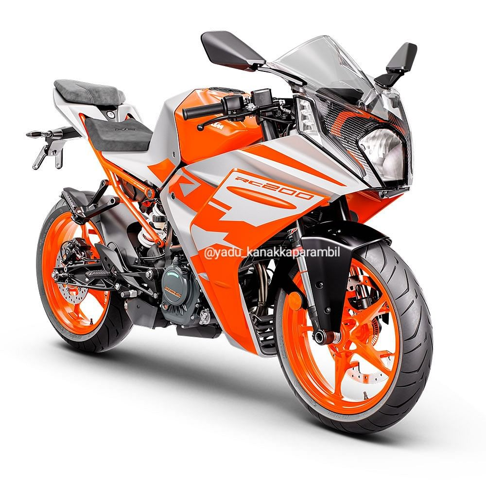 The new RC range will have split seats instead of the pillion seat integrated in the cowl