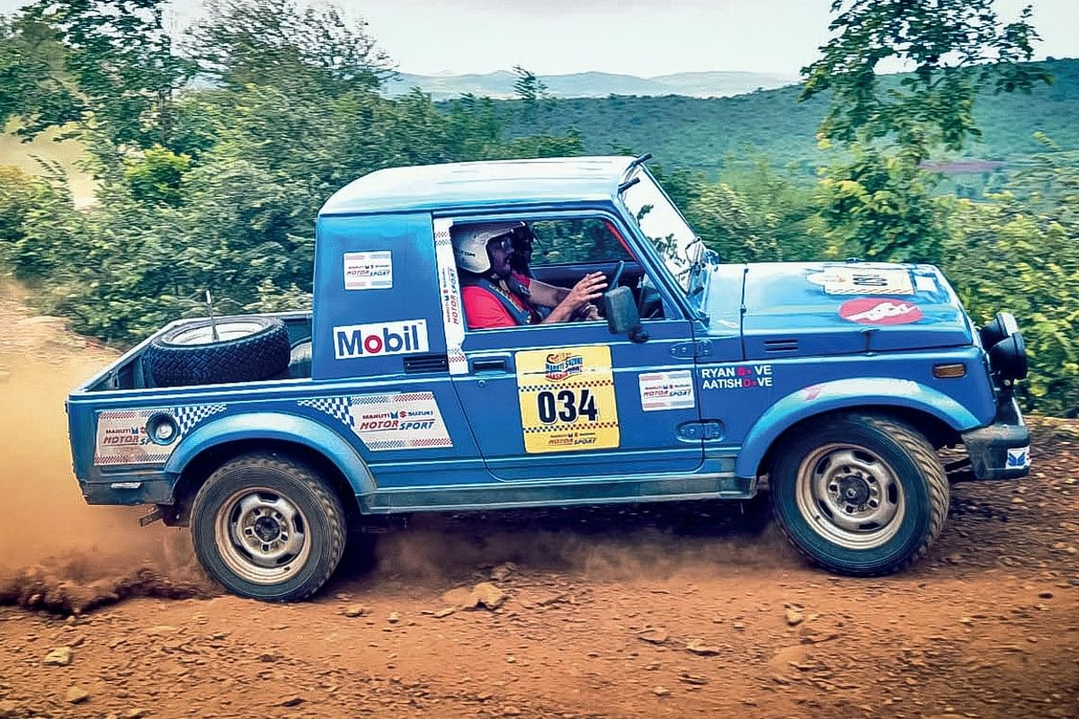 Team evo India is bitten by the rally bug, with the assistant Ed playing navigator in the Dakshin Dare rally