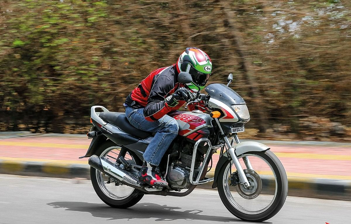 As good as it gets on the Hero Honda CBZ